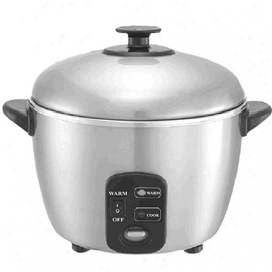 Sunpentown 3-cup Rice Cooker And Steamer