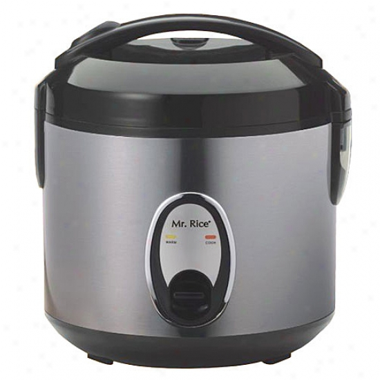 Sunpentown 4-cup Rice Cooker - Stainless Steel