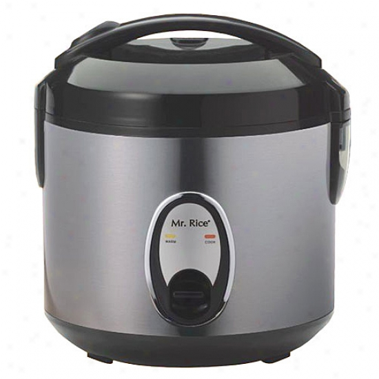 Sunpentown 6-cup Rice Cooker - Stainless Steel