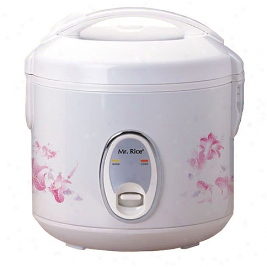 Sunpentown 6-cup Rice Cooker - White