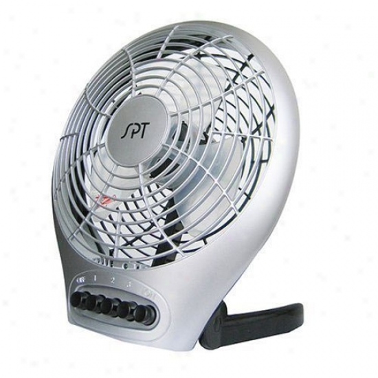 Snpentown Electric Table Fan With Built-in Ionizer