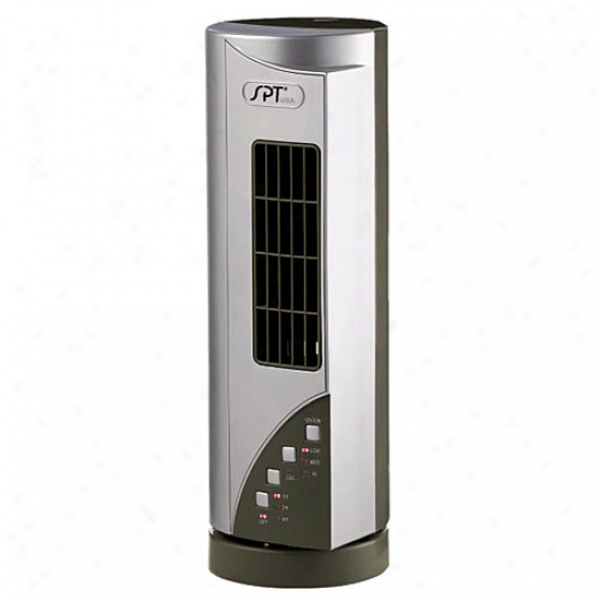 Sunpentown Mini Tower Fan With Built-in Ionizer