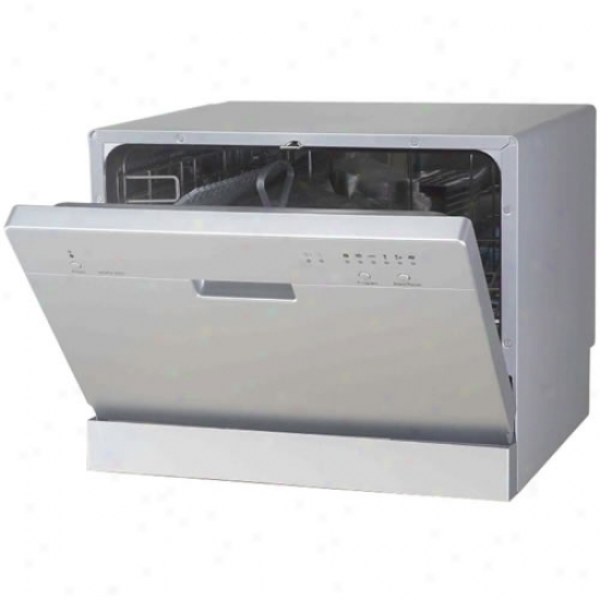 Sunpentown Silver Portable Dishwasher