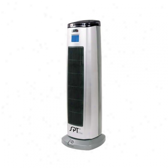 Sunpentown Tower Ceramic Heater With Ionizer