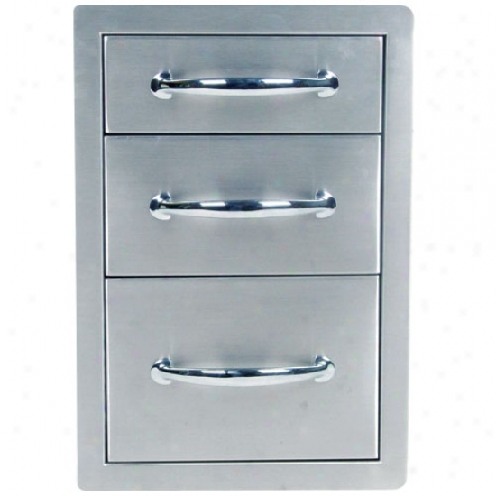 Sunstone Grills 14  Triple Access Drawers