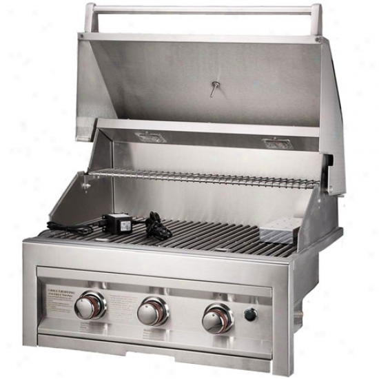 Countertop Gas Grill Outdoor : Sunstone Grills 28 3 Burner Gas Grill .