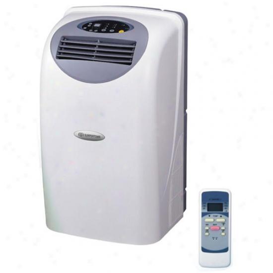 Supentown 12,000 Btu Portable Air Conditioner W/ Dehumidfier