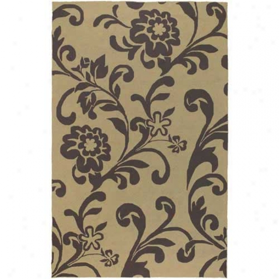 Surya Rain Flower Vine Outdoor Rug