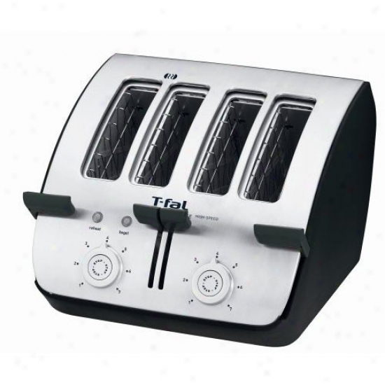 T-fal Deluxe 4-slice Toaster