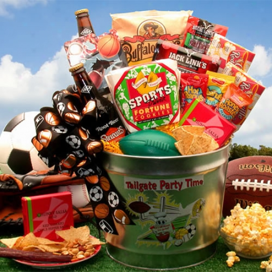 Tailgate Party Allotted period Gift Pail