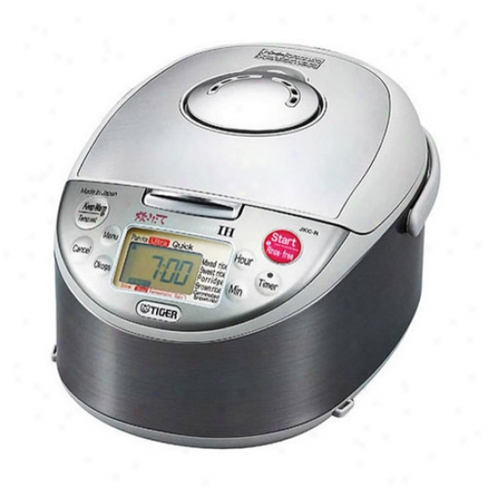 Tiger Inductoin Heating 5.5 Cup Rice Cooker