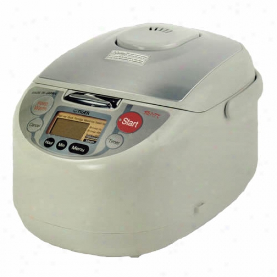 Tiger Microcomputer-controlled Rice Cooker 10 Draught 3-in-1 Warmer