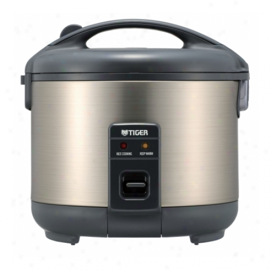 Tiger Stainless Armor Electric 3 Cup Rice Cooker