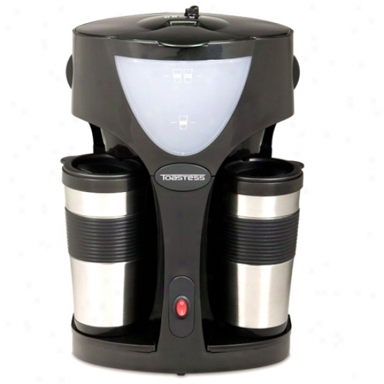 Toastess Coffee Maker/ Thermal Travel Mugs