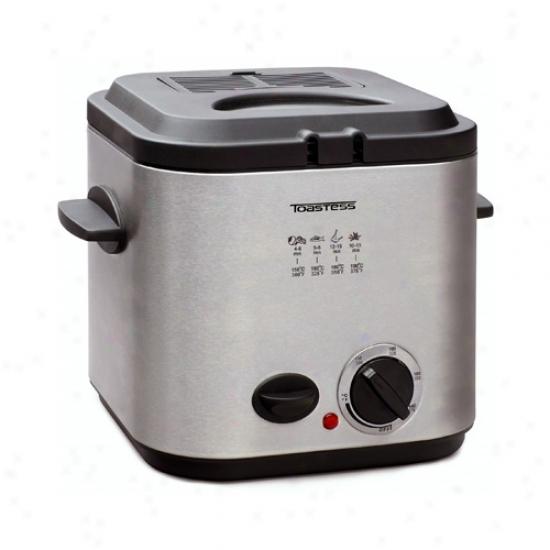 Tozstess Steel Nonstick Deep Fryer