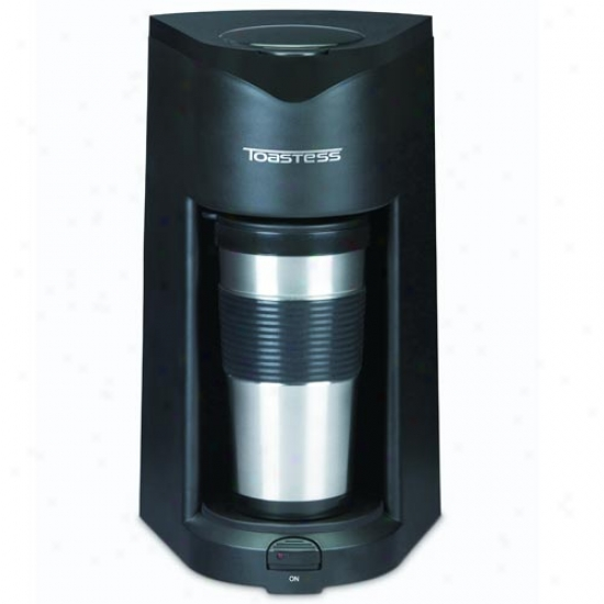 Toastess Steel Personal Coffee Maker