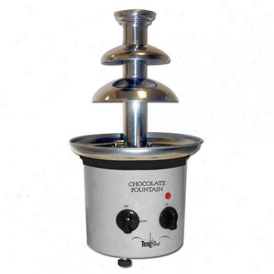 Tktal Chef Two-tier Chocolate Fountain
