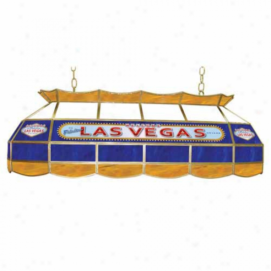Trademark Global 40  Las Vegas Stained Glass Light Fixture
