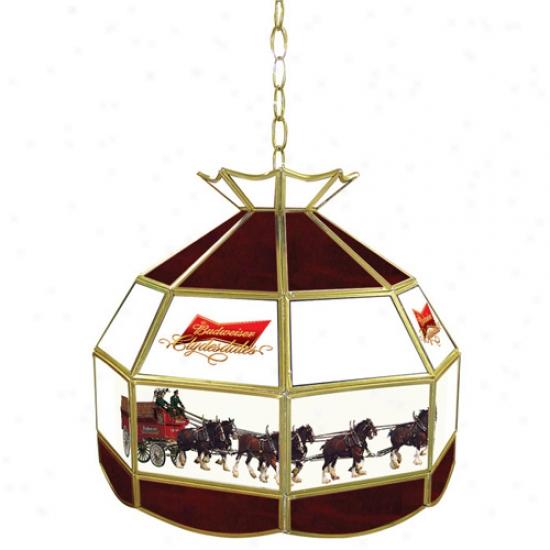 Trademark Global Beer Logo 16-inch Tiffany Lamp Gay Fixture