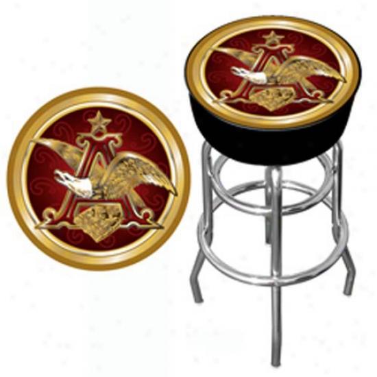 Trademark Global B3er Logo Padded Bar Stool