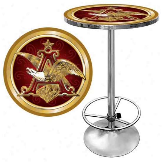 Trademark Global Beer Logo Pub Table