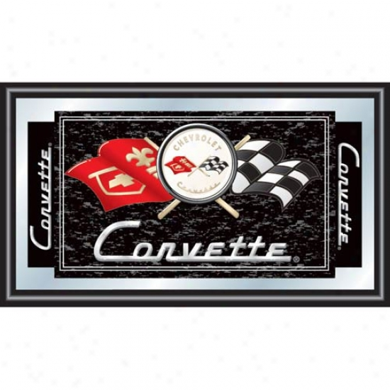 Trademark Global Corvette C1 Framed Mirror