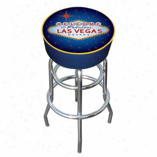 Trademark Global Las Vegas Padded Bar Discharge