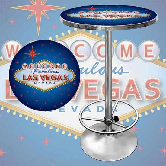 Trademark Global Las Vegas Pub Table