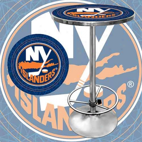 Trademark Global Nhl Team Logo Pub Table