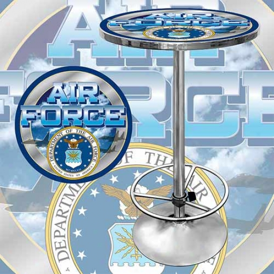 Trademark Global Us Air Force Pub Table