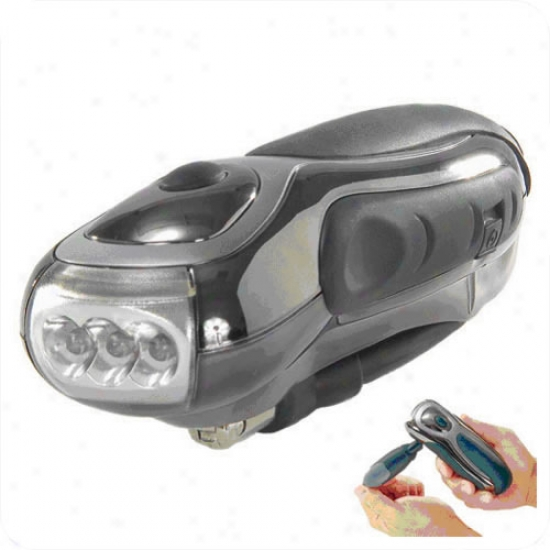 Utility Dynamo Tri-led Flashlight
