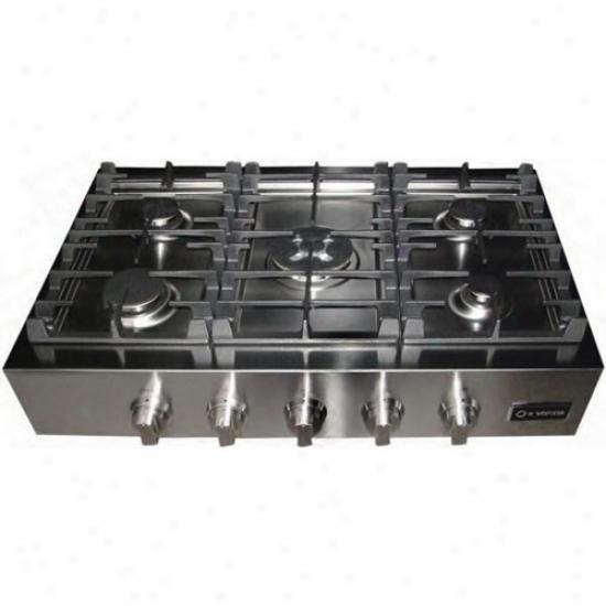 Verona 36  Gas Pro Cooktop