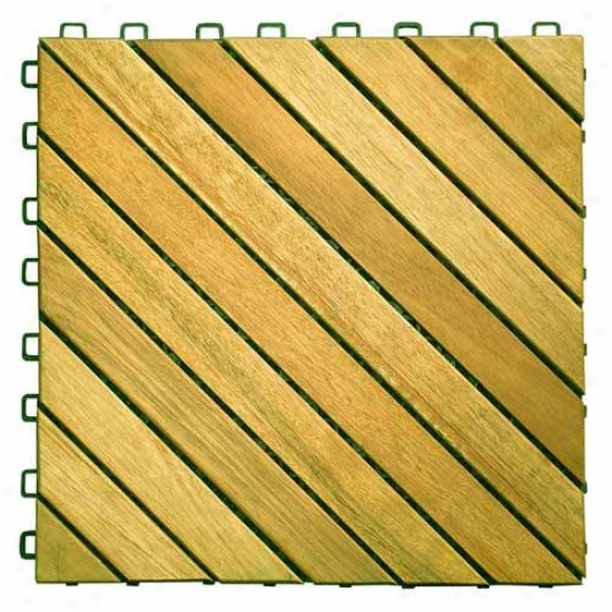 Vifah 12 Slat Deck Tile