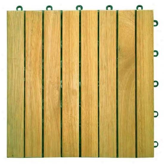 Vifah 8 Slat Diagonal Deck Tile