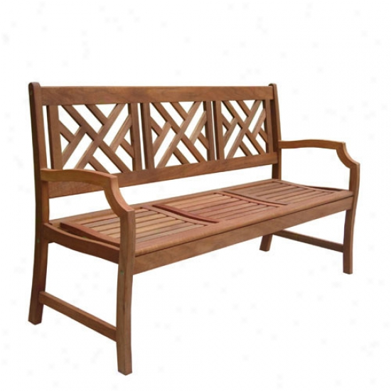 Vifah Atlantic 5' Garden Bench