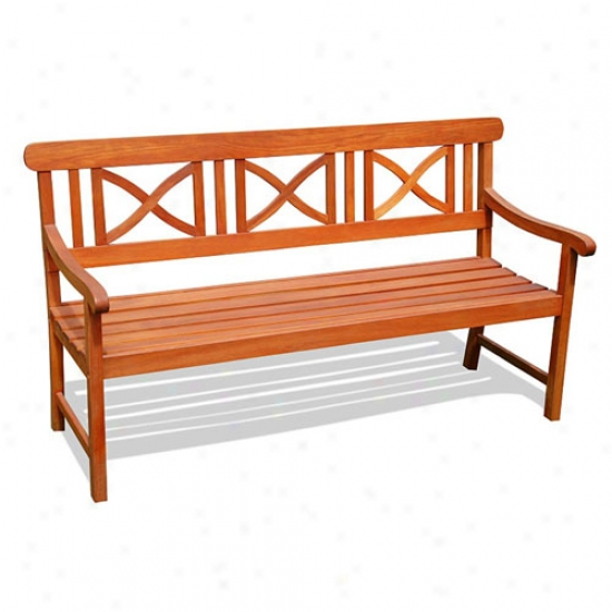 Vifah Balthazar 5' Shorea Bench