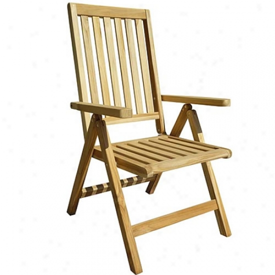 Vifah Outdoor Teak Chair