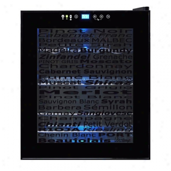 Vinotemp 15 Bottle Varetal Door Wine Cooler