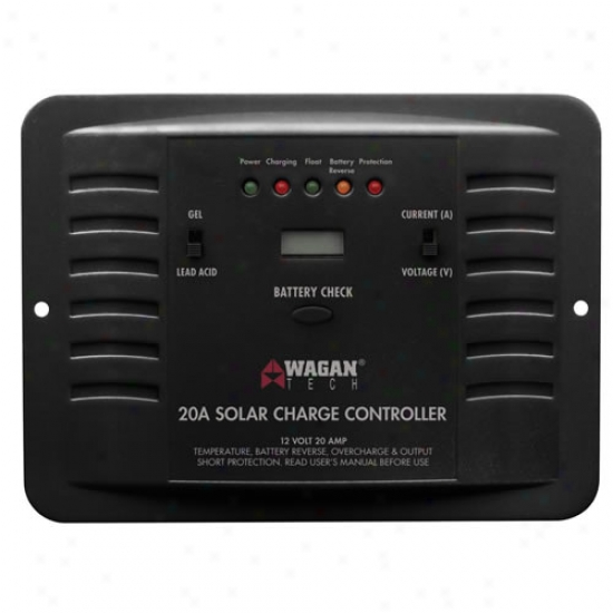 Wagan 20 Amp Solar Charge Controller
