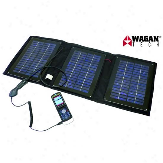 Wagan Solar Epanel 12w Solar Charger