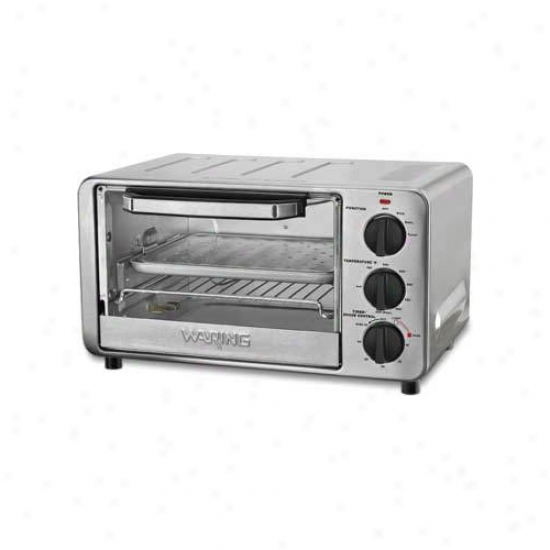 Waring Pro 4-slice 0.4 Cu. Ft. Toaster Oven