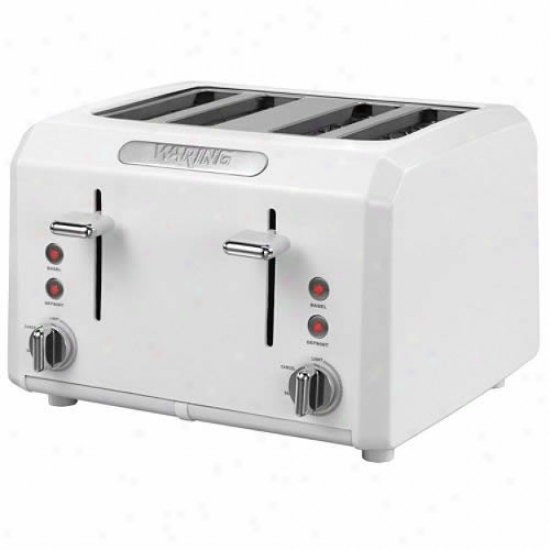 Waring Pro 4-slice Cool Touch Toaster - Happy