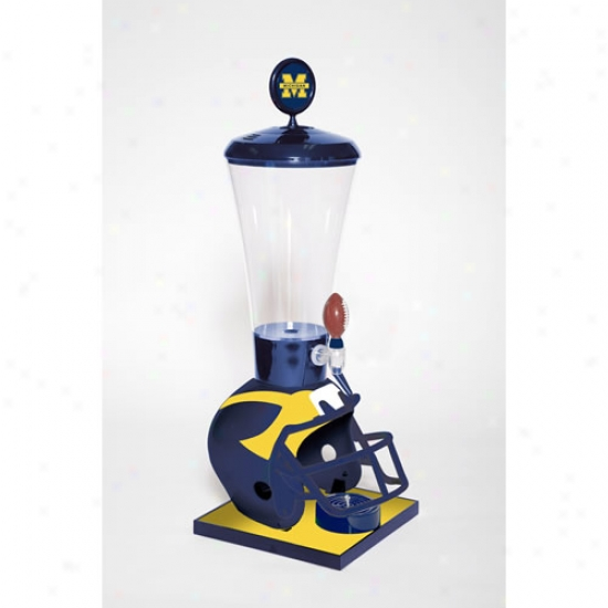 Wild Sports Michigan Wolverines Drinm Dis;enser