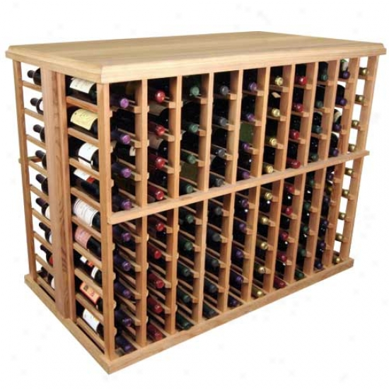 Wine Cellar Innovations 180 Individual Bottle Tasting Table