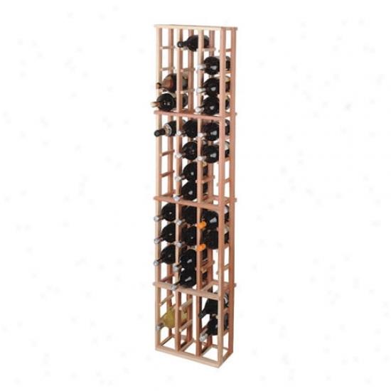 Wine Cellar Innovations 48 Individula Magnum Bottle Rack - Redwood