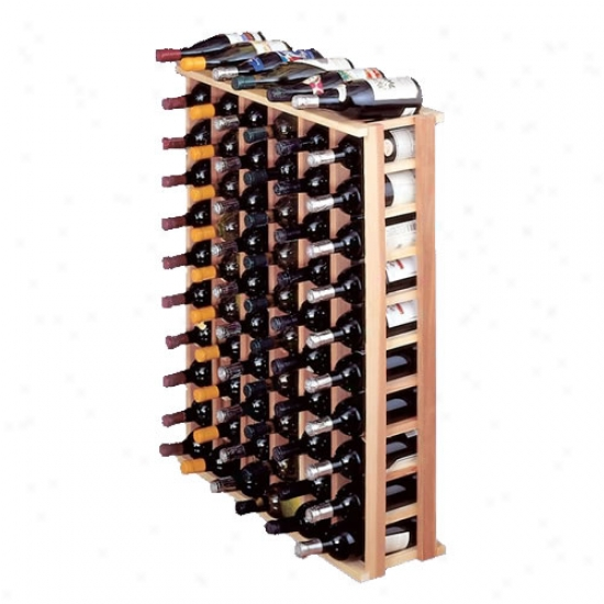 Wine Cellar Innovations 66 Individual Bottle Rack - Redwood