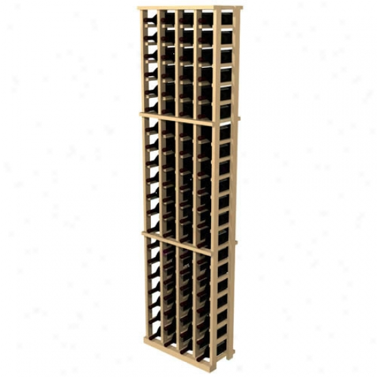 Wine Cellar Innovations Country Pine 84 Individual Bottle Rack