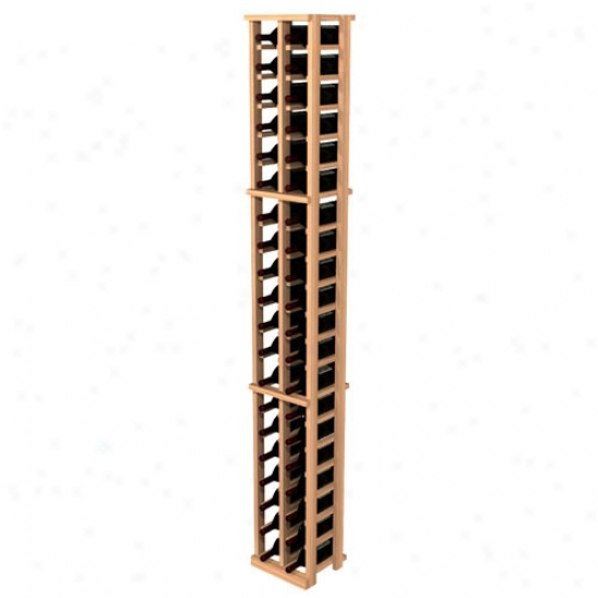 Wine Cellar Innovations Super Premium Redwood 42 Individual Bottle Rack