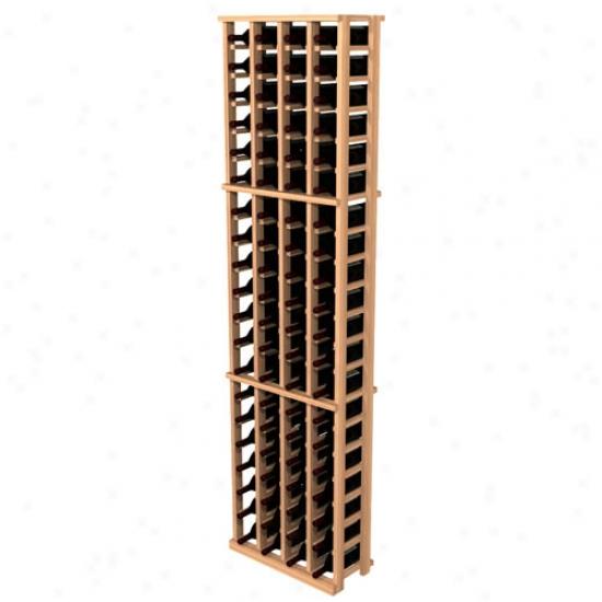 Wine Cellar Innovations Super Premium Redwood 84 Individual Bottle Rack