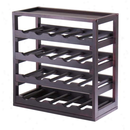 Winsome Kingston Stackable 20 Bottle Wine Cubby